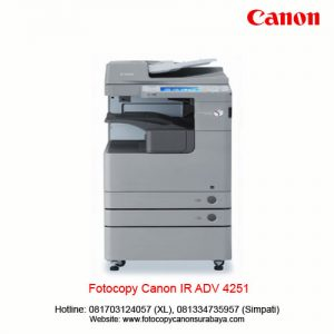 Fotocopy Canon IR ADV 4551